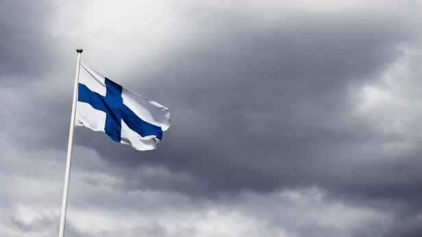 finland flag photography